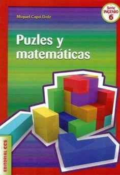 http://www.editorialccs.com/catalogo/ficha.aspx?i=2556  Qué tienen que ver las matemáticas con los puzles? Pues, aunque no te lo creas, mucho más de lo que parece. En este libro encontrarás más de 150 puzles con los que podrás entretenerte, disfrutar y aprender algo de matemáticas.Entre otras cosas podrás contestar a las siguientes preguntas: Cuántos polígonos convexos se pueden formar utilizando las 7 piezas del Tangram chino? Qué es el Tangram del corazón? Y el Tangram del huevo?