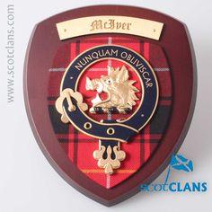 Clan McIver Wall Pla