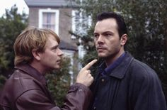 Memorable EastEnders departures:  (Michael French as David Wicks and Adam Woodyatt as Ian Beale)  David Wicks legs it  David Wicks (Michael French) was another of Walford's wide-boy womanisers. David had an affair with his half-brother Ian Beale's (Adam Woodyatt) wife Cindy (Michelle Collins) and then arranged to have Ian shot before then embarking on another affair with old flame Carol Jackson (Lindsey Coulson).