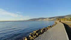 Uferpromenade im Januar
