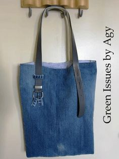 Green Issues by Agy: Jeans into Reversible Bag