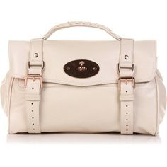 Cream Mulberry Alexa with rose gold hardware; funny how this is my name and I love the purse, haha :)