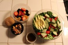 #Vegan a Week - lunch idea! No trip to the health food store necessary.