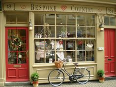 How beautiful is this shop front?!... Bespoke Country in Scarborough, UK