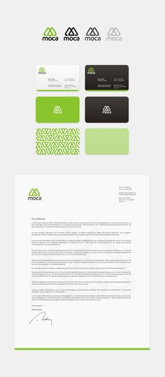 Moca Corporate Identity by Arslan Ali || #stationary #corporate #design #corporatedesign #logo #identity #branding #marketing