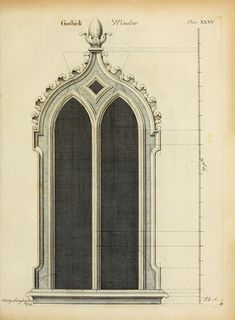 Gothic architecture, improved by rules and proportions: in many grand designs of columns, doors, windows, chimney-pieces, arcades, colonades, porticos, umbrellos, temples and pavillions c.: with plans, elevations and profiles (1747) Author: Langley, Batty, 1696-1751; Langley, Batty, 1696-1751. Ancient architecture restored and