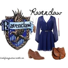 Ravenclaw3, created by sad-samantha on Polyvore