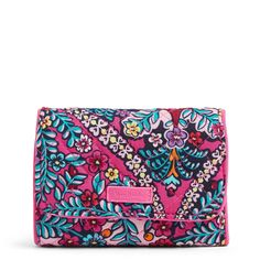 Smaller bags require smaller wallets—that's a fact. But smaller doesn't mean less function in this case. Vera Bradley Wallet, Branded Wallets, Small Wallet, Gel Pens, Beautiful Bags, Style Icons, Compact, Shop, Fabric