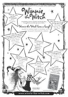 Resultado de imagen para winnie the witch activities to print Winnie The Witch, Grande Section, English Activities, Magic Book, English Lessons, Read Aloud, Teaching English, Projects To Try, Jokes
