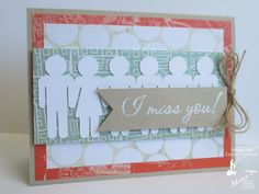 Paper, Ribbon, and Thread: MFP Blog Hop Day #4 - All Postal (February 2013)