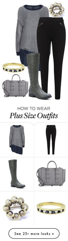 """""""plus size inga"""" by aleger-1 on Polyvore featuring LifeStride, Kendall + Kylie and Tiffany & Co."""
