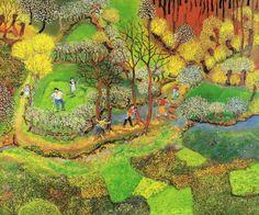Lucien Pouëdras, peintre des campagnes bretonnes 6ac62193e2504c048ddac570f55620cd--sur