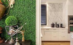 artificial boxwood wallpaper by artificial landscapes   notonthehighstreet.com