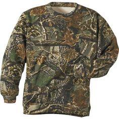 Cabela's Youth Camo Sweatshirt - Black (S) $24.99
