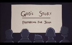 God's Story: Preparing for Jesus Throughout the Bible, God prepared us for his son, Jesus, the one who rescued us from all the wrong things in the world. We see examples of this in the story of Isaac (Genesis 22:1-19), the Passover (Exodus 12:1-30), the prophecy of Isaiah (Isaiah 53), and the Last Supper (Luke 22). Check out more videos (and other cool stuff) at CrossroadsKidsClub.net