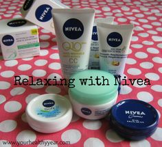Relaxing with Nivea products and my Garden. #CollectiveBias #shop #cbias