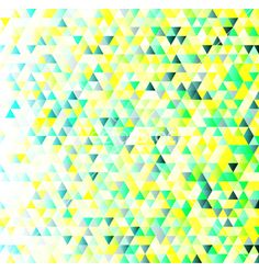Colorful triangles geometric pattern vector