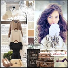 """Cold @ Sammydress"" by eyly on Polyvore"