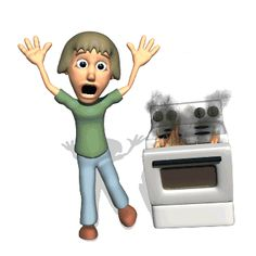 Help‼ Usually that's my stove ✳✳. =-O