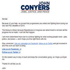 Check it out at:  https://sinclairldjohnson.wordpress.com/2016/01/08/john-conyers-message/