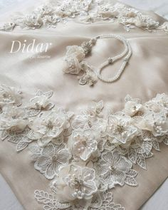 Bohca Wedding Hall Decorations, Prayer Rug, Bargello, Ribbon Embroidery, Baby Decor, Fabric Flowers, Wedding Designs, Lace, Crafts
