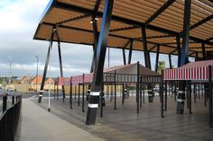 Image 2 of 8 from gallery of Wakefield Market Hall / Adjaye Associates. Courtesy of Adjaye Associates Canopy Glass, Traditional Market, Vertical Farming, Space Projects, Public Realm, Canopy Design, Roof Structure, Wakefield, Roof Design