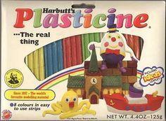 Plastacine-don't get it near carpets!