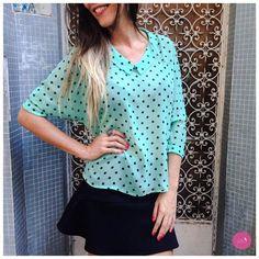 Camisa de poás linda e delicada! #Vemprazas