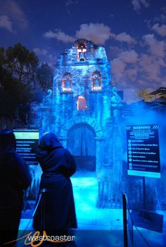 this was a maze at hollywoods universal studios halloween horror nights it was by far my favorite maze there that year it was called la llorona im going