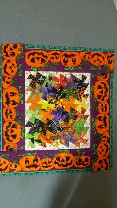 Halloween twister quilt