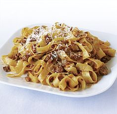 Tagliatelle with Quick Lamb Sugo #30min #meals #recipe