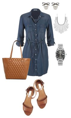 Saturday Errands by sonyastyle on Polyvore featuring polyvore, fashion, style, maurices, Steve Madden, Vera Bradley, Marc by Marc Jacobs, Lucky Brand, clothing and shirtdress