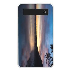 Lake Springfield Autumn Sunrise Power Bank - photography gifts diy custom unique special