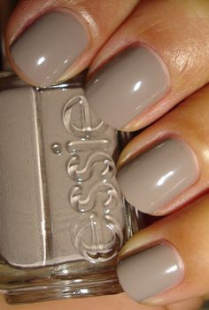 Essie - Miss Fancy Pants. Would make nice French manicure with white top
