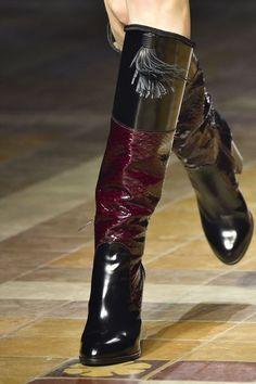 Tendances chaussures défilés automne-hiver 2015-2016 - L'Express Styles - Lanvin
