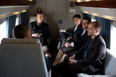 presidents with advisors | President Obama talks with advisors aboard Marine One - White House ...