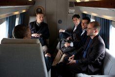 presidents with advisors | President Obama talks with advisors aboard Marine One - White House ...