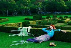 Vogue Italia August 2004 Photographer: Steven Meisel Fashion Editor: Edward Enninful