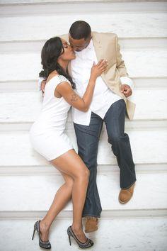 Elegant E-Session in Atlanta Hotel - Munaluchi Bridal Magazine Engagement Shots, Engagement Photo Outfits, Engagement Couple, Engagement Pictures, My Black Is Beautiful, Beautiful Couple, Black Love, Couple Posing, Couple Shoot