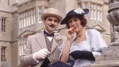 Hercule Poirot with the Countess . . . the thief he deliberately let go free.  Acorn TV - Agatha Christie's Poirot | The best British TV streaming on demand, commercial free.