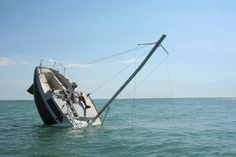 """hilarious. """"permanent and mobile image of a wrecked ship that has become a functional and safe leisure object"""""""
