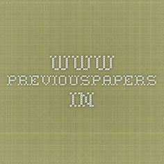 www.previouspapers.in