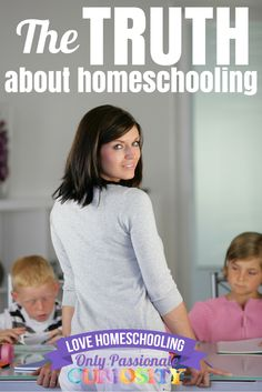The Truth about Homeschooling via @opchomeschool