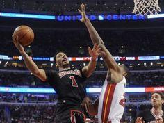 Jan. 25, 2015: Derrick Rose (1) and the Bulls had a