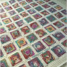 The Patchwork Heart: My Crofter Blanket ~ free pattern
