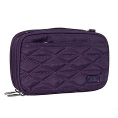 Lug Roundabout Wallet $52 Cosmetic Case, The Perfect Touch, Night Out, Shoulder Strap, Zip Around Wallet, Crossbody Bag, Cosmetics, Purses, Stuff To Buy