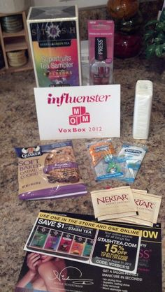 Got my Influenster mom VoxBox today!!!      @Influenster