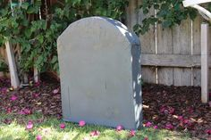 Create hauntingly realistic 3D cardboard tombstones with very little effort or money. Your yard will be the talk of the town on Halloween!