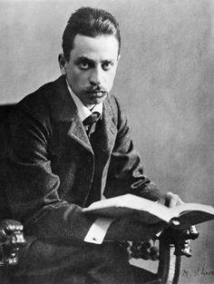 """Rilke w swym najlepszym paryskim okresie, z czasów """"Nowych wierszy"""". Paryż 1906"""