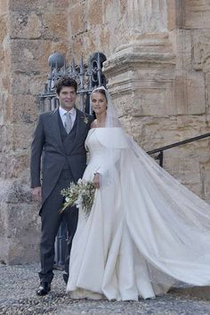 Columbian-american financier and philanthropist - and billionaire heir - Alejandro Santo Domingo marries Lady Charlotte Wellesley, daughter of the 6th Duke of Wellington on May 28, 2016 in Illora, Spain #emiliawickstead